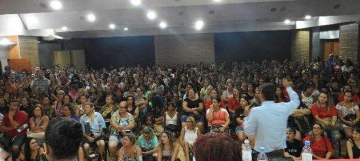 ASSEMBLEIA DO SINTERG (SINDICATO DOS TRABALHADORES EM EDUCAÇÃO DO MUNICÍPIO DE RIO GRANDE)
